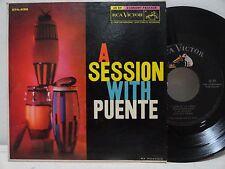 Tito Puente A Session With Puente 45 EPA-4198 Son De La Loma Almendra Guajira EX