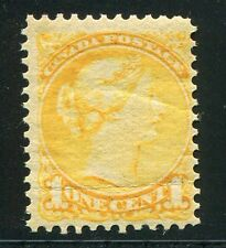 Canada 1870 Scott 35, Small Queen 1c NH with Small Crease, Scott $110