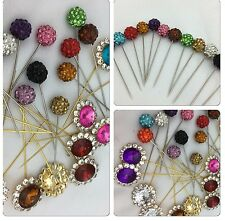 Wholesale Joblot Hijab Scarf Safty Pin U I'll Get 12pc Diff Color Diff Designs