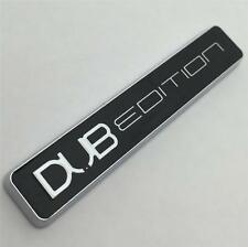 Chrome DUB Edition CAR BADGE NUOVO per VW GOLF GTI TDI POLO LUPO PASSAT CADDY T4 5