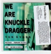 (BO474) Tom Ryder, We Are Knuckle Dragger - 2011 DJ CD