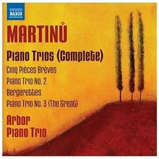 Martinu: Complete Piano Trios (CD, Dec-2012, Naxos (Distributor))