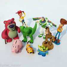 TOY STORY DISNEY PIXAR LOTE 9 FIGURAS PVC  FIGURES CHARACTERS TOY STORY