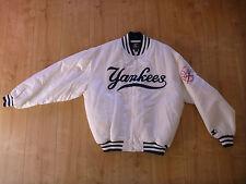 Starter béisbol chaqueta New York Yankees blanco talla L EE. UU. MLB chaqueta College Jacket