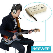 Neewer Portable Electric Guitar Plug Mini Headphone Amp Amplifier (Acoustic)