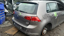 VW GOLF MK7 2013-15 BREAKING FOR PARTS & SPARE / O.S.R DRIVER REAR DOOR