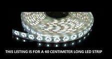White 40cm 24 SMD LED Flexible Strip Light Car, Van,bike 12V custom lighting
