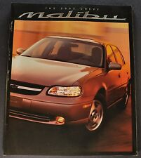 2002 Chevrolet Malibu Catalog Sales Brochure LS Excellent Original 02