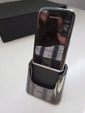 Nokia 8800 Sapphire Arte - Black (Unlocked) Cellular Phone Boxed