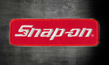 Snap on Logo uniform Racing Jacket Hat Cap Embroidered Iron On Patch