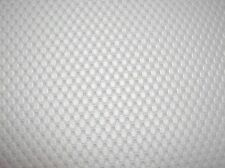 """Marine Grade Outdoor Upholstery Vinyl 52"""" Wide - White """"Wave"""" - Sold by the Yard"""