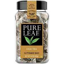 Pack of 6 Pure Leaf Hot Tea Bags, Chai, 16 Count, New