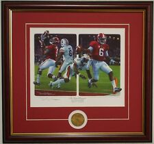 Alabama vs Auburn 2014 Iron Bowl The Game Changers framed print by Daniel Moore