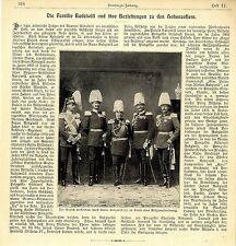 Die Familie Radziwill und ihre Beziehungen zu den Hohenzollern 1905