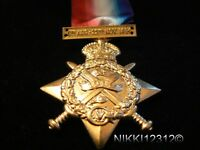 FULL SIZE BRITISH WW1 1914 STAR WITH CLASP REPLACEMENT COPY MEDAL
