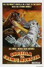 Godzilla Vs Mechagodzilla Poster 01 Metal Sign A4 12x8 Aluminium