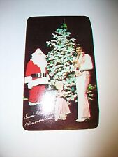 1978 Elvis Presley RCA RECORDS Calendar Card Season's Greetings Elvis & Colonel