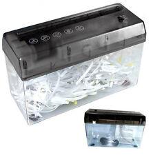 Distruggi documenti trita carta lettere buste fogli A4 elettrico USB BatterieAAA