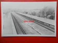 PHOTO  UKNOWN RAILWAY STATION - CAN YOU IDENTIFY IT? 46