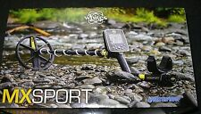WHITES MX PRO WATERPROOF METAL DETECTOR WITH LAND HEADSET ALL TERRAIN - PURPOSES