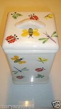 Hug Bug At Home International Cookie Flour Sugar Canister Jar Dragonfly Bee Lady