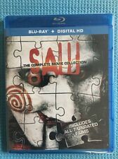 Saw: The Complete Movie Collection Blu-ray Ultraviolet  Digital HD All 7 Un