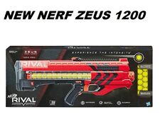 NEW NERF Rival Red ZEUS MXV - 1200 Blaster ADVANCED TOY DART GUNS Age 14