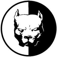 Black Pitbull Super Hero Dog Car Decal Window Decal/Sticker Vinyl Decals 12*12cm