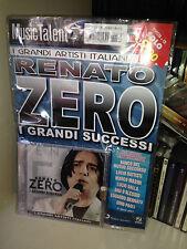 RENATO ZERO I GRANDI SUCCESSI ARTISTI ITALIANI RARO CD + RIVISTA SIGILLATO