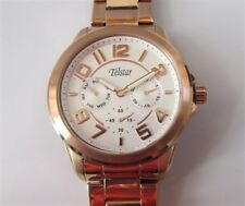 Telstar Ladies Stainless Steel Watch Rose Gold. NEW 5 yr guarantee 50m RRP £95