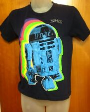 STAR WARS youth XS tee dayglo robot T shirt throwback Old Navy kids tee R2D2