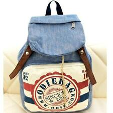 Womens Fashion Backpack Casual Travel Backpacks Canvas School Bags Denim Bags