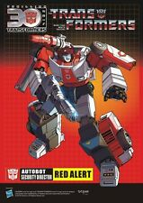 TF G1 AUTOBOT Red Alert Poster!A4 size,New version.