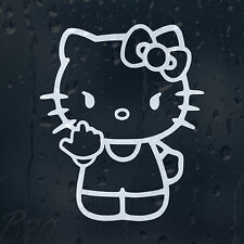 Hello Kitty Car Window Windscreen Body Panel Laptop Phone Decal Vinyl Sticker
