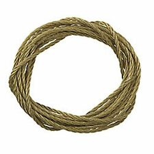 Heavy Duty Brass Mirror Photo Picture Frame Hanging Wire Cord Cable No. 3
