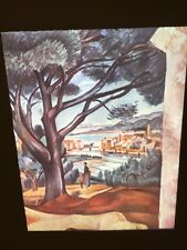 """Andre Derain """"Salters At Martigues"""" Fauvism French Art 35mm Glass Slide"""