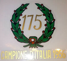 ADESIVO ORIGINALE MONDIAL 175 ALLORO dal 1956 IN POI DECAL STICKERS MOTOR BIKE