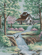 Dimensions - Counted Cross Stitch Kit - Peaceful Stream - D35027