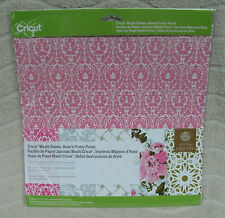 "Cricut Washi Sheets, Anna's Pretty Prints (5)- 12"" x 12"" Sheets ~ NEW"