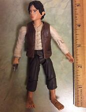 2002 Lord Of The Rings Two Towers Frodo Baggins w Sting Sword Action Figure