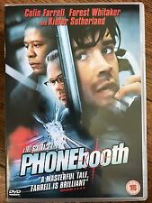 Colin Farrell PHONE BOOTH ~ 2002 New York Phonebox Sniper Thriller ~ UK DVD