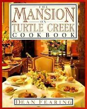 The Mansion on Turtle Creek Cookbook by Fearing, Dean, Good Book