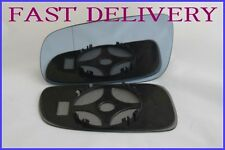 VW GOLF MK4 1997-2006 BLIND SPOT BLUE TINTED WING MIRROR GLASS LEFT SIDE