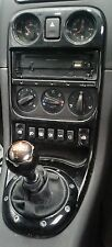 MGTF LE500 MGF MARK 2 PIANO GLOSS BLACK CENTRE CONSOLE  GT MG SPARES LTD