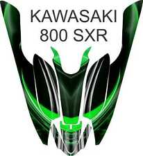 KAWASAKI 800 SXR jet ski STAND UP wrap graphics pwc up jetski decal kit 3