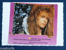 z/ handmade greetings - birthday card ZAKK WYLDE - OZZ