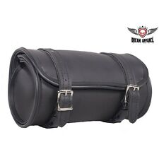 "Plain 100% Waterproof 10"" Motorcycle Tool Bag Universal Fitting"