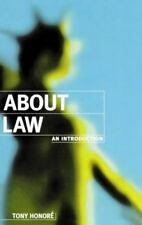 About Law: An Introduction (Clarendon Law Series) by Honoré, Tony, Good Book
