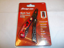 Snap on Multi Tools 8 Components Multi-Function Tools with Clip PE20S #871157NEW
