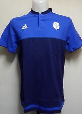 FRANCE RUGBY S/S ANTHEM  POLO SHIRT BY ADIDAS ADULTS SIZE LARGE BNWT